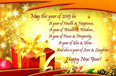 A Year Of Happiness And Success! |New Year|Happy New Year|New Year 2015|2015|  http://www.123greetings.com/events/new_year/new_year_wishes/a_year_of_happiness_and_success.html