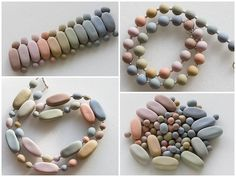 easy/beautiful pastel polymer beads