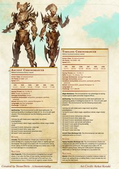 Homebrewing monsters DnD Homebrew Steampunk Monsters by Stonestrix. Dungeons And Dragons 5e, Dungeons And Dragons Homebrew, Dnd Characters, Fantasy Characters, Dnd Stats, Pen & Paper, Dnd Races, Dnd 5e Homebrew, Dragon Rpg
