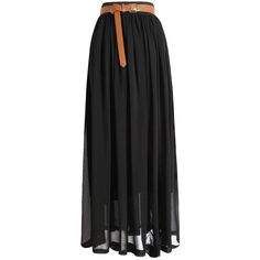 Black Chiffon Maxi Skirt ($19) ❤ liked on Polyvore featuring skirts, black, bottoms, long layered skirt, maxi skirt, layered chiffon skirt, long chiffon skirt and floor length chiffon skirt