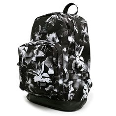 Huf Floral Backpack (Black) $74.95