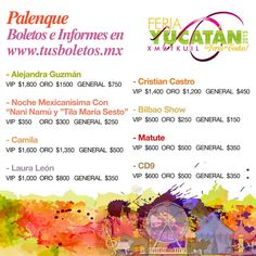 feria yucatán 2015 palenque