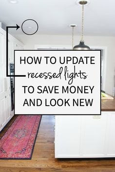 Upgrade to led recessed lighting almost as easy as changing a an easy to follow tutorial for how to replace old recessed lights with leds mozeypictures Choice Image