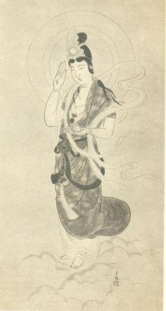 Unjyo Kannon (by Mokiti Okada)