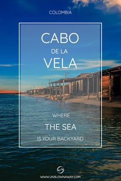 The Guajira is Colombia's best kept secret. Looking for a backpacking adventure to paradise where the desert meets the sea? Best Kept Secret, Backpacking, Paradise, Backyard, Sea, Adventure, Cabo De La Vela, Yard, Trail Riding