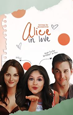 Alice In Love // Book Cover by moonxriver