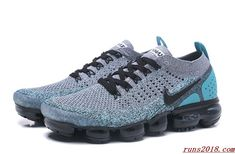 sale retailer 8ac79 6e626 Nike Air Vapormax 2.0 2018 Grey Light Green Nike Shoes Uk, Sneakers Nike,  Nike