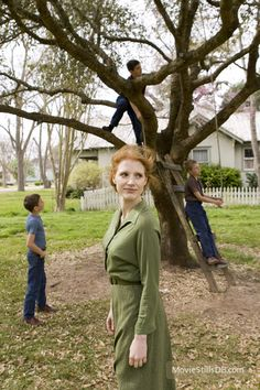 The Tree of Life - Publicity still of Jessica Chastain
