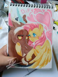 Happy Fluttercord by Yami-Sempai on DeviantArt My Little Pony Drawing, Mlp My Little Pony, My Pretty Pony, Fluttershy, Discord, Little Poni, Mlp Fan Art, My Little Pony Pictures, Wallpaper Space