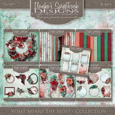 Ilonka's Scrapbook Designs: What Means The Most by Ilonka's Scrapbook Designs