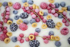 Breakfast Frozen Yogurt Barks