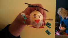 Submitted by: Erin  My Easter egg is modeled after former chairman of the Federal Reserve, Ben Bernanke.  #TeachEcon