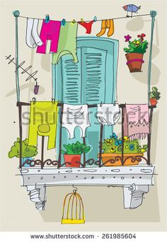 1000 images about crafts porcelain patterns on for Balcony cartoon