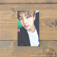 BTS In the mood for love PT.2 JIN Japan ver. official photo card K-POP