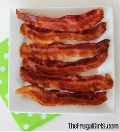 Perfect Crispy Bacon in the Oven in Breakfast Recipes, Easter Recipes, Kitchen Tips, Recipes
