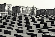 The Memorial to the Murdered Jews of Europe. Berlin, Germany
