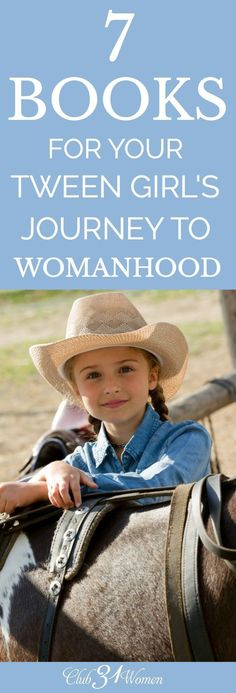 Tween girls are at a ripe age for learning what it means to grow into a young woman and many girls (and moms) need direction with what that looks like.  If that's you, this wonderful list of books for your tween girl will help both you and her walk the pa