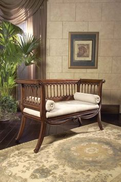 English Settee at Doerr Furniture Store in New Orleans www.doerrfurniture.com