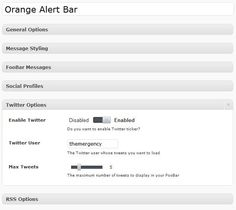Create WordPress Notification Bars with FooBar