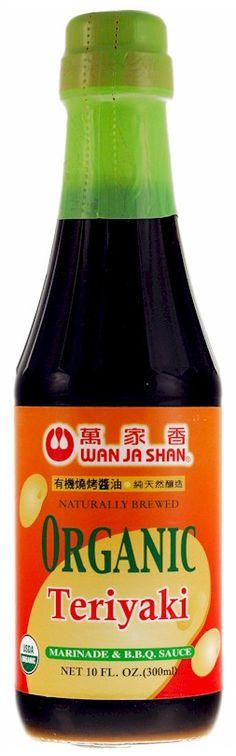 Wan Ja Shan Organic Teriyaki Sauce 10 oz.
