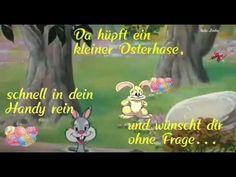 Gleich springt ein (mehrere)Osterhase aus deinem Handy Ich wünsche dir fröhliche Ostern  - YouTube