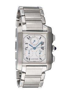 Cartier Tank Fran�aise Chronograph Watch