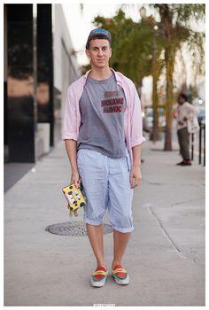 Jeremy Scott in Los Angeles Street Style Portrait | Streetgeist