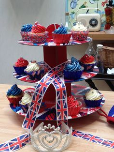 Jubilee cupcakes which were a big youtube and viewer hit.