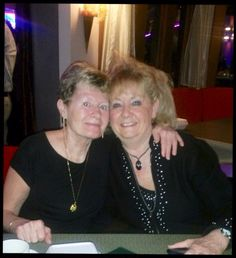 Donna with Susan at Klaus's Birthday.
