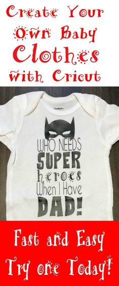 Create Your Own Baby Clothes Cricut Smart Cutting Machine Fun My