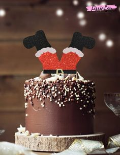 Savory magic cake with roasted peppers and tandoori - Clean Eating Snacks Christmas Cake Designs, Christmas Cake Topper, Christmas Cake Decorations, Christmas Cupcakes, Holiday Cakes, Christmas Desserts, Christmas Treats, Christmas Baking, Pretty Cakes