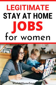 Are you a stay at home mom looking for legit online jobs? If yes, here's a list of some of the best work from home jobs for moms and women to make extra money. Legit Work From Home, Legitimate Work From Home, Work From Home Jobs, Legit Online Jobs, Work From Home Companies, Jobs For Women, Stay At Home Mom, Extra Money, Work From Home Business