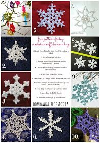 Oombawka Design *Crochet*: Crochet Snowflakes - Free Pattern Friday Round Up!