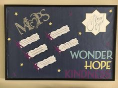 MOPs We are the Starry Eyed Bulletin Board Publicity