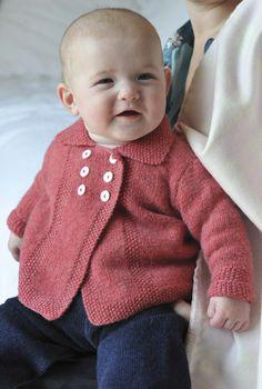 Cashmere Hand Knit Coat | Babies Cashmere Cardigans | Brora