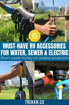 Travel Trailer Living, Rv Travel, Rv Solar Panels, Camping Kitchen, Camping Cooking, Used Campers, Buying An Rv, Rv Makeover, Rv Accessories