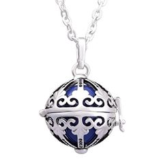 EUDORA Sterling Silver Harmony Ball Chime Bell Pendant baby Angel Caller Pendant Necklace Eudora http://www.amazon.com/dp/B01411S6K4/ref=cm_sw_r_pi_dp_Jtyswb1PT5B4R