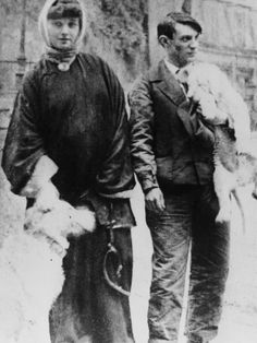 Picasso and Fernande Olivier in montmartre, c. 1906