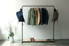 free standing clothes rack - Google Search