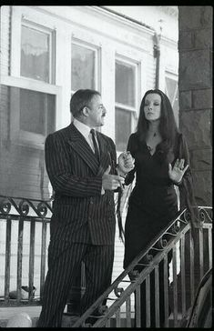 The Addams Family Cast, Addams Family Quotes, Turner Classic Movies, Classic Films, James Bond Games, John Astin, Gomez And Morticia, Charles Addams, Photo Negative