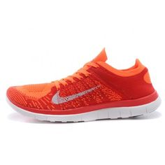 Nike Free Flyknit 4.0 Mens Shoes Bright crimson $66.00