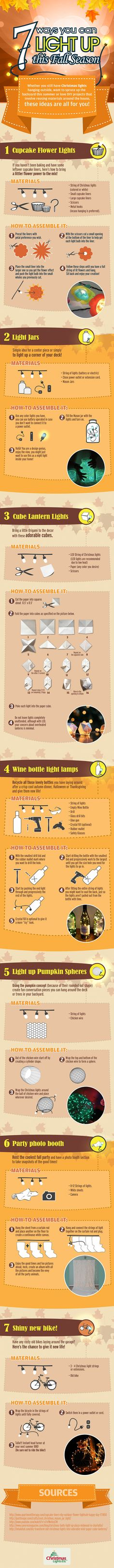 7 Ways to LIGHT UP this Fall Season