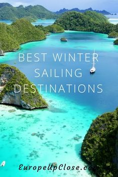 holiday around the world Best Winter Sailing Destinations Around the World: Perfect Winter Destinations to soak up the sun: Sailing in the Caribbean, Asia and Africa! Travel Destinations Beach, Winter Destinations, Beach Travel, Luxury Travel, Holidays Around The World, Around The Worlds, Sailing Holidays, Sailing Trips, Travel Guides