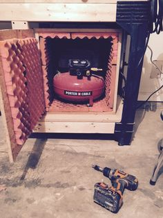 Soundproof air compressor