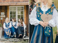 A wedding in Norway. Nordic Wedding, Norwegian Wedding, Autumn Wedding, Rustic Wedding, Wedding Trends, Wedding Blog, Wedding Ideas, Fairytale Cottage, Green Wedding Shoes