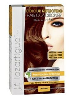 It both colors and conditions your hair. It washes out without any trace after 3 to 6 shampoos. NO AMMONIA - NO PEROXIDE. The vegetable protein of this make up for hair, restores incredible shine and provides softness to dull hair. Vegetable Protein, Dull Hair, Hair Conditioner, Free Hair, Hair Care, Hair Color, Make Up, Beauty, Colour