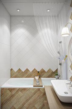 Freshly Looking Wooden Bathroom Ideas for Calming Effect Bathroom Red, Wooden Bathroom, Large Bathrooms, Bathroom Layout, Bathroom Interior, Home Interior, Small Bathroom, Bathroom Ideas, Master Bathrooms