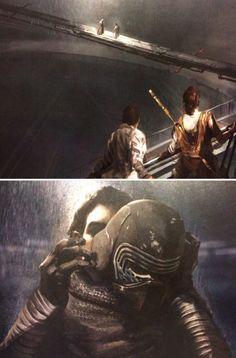 Star Wars - The Art of the Force Awakens - Kylo Ren & Han Solo