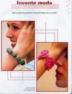 Roberta Crochê e Cia: Bijuterias de Crochê