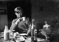 Colin Wilson & his girlfriend Joy